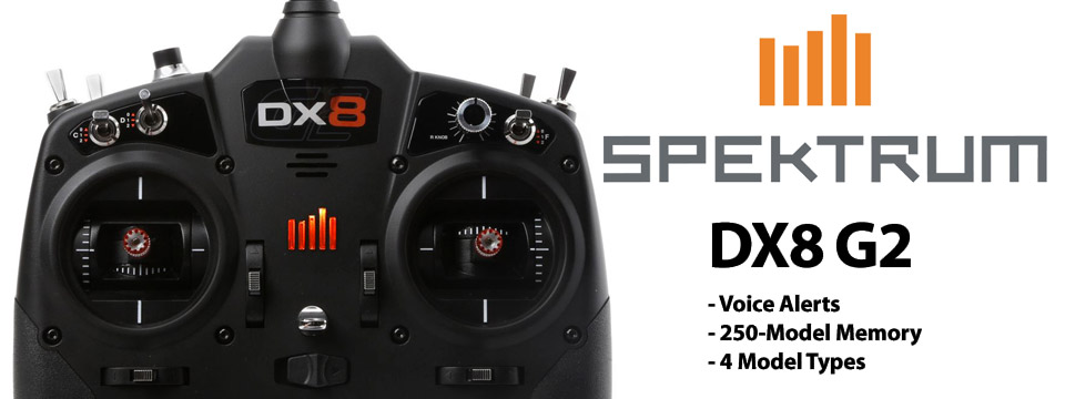 Spektrum DX8 Gen2