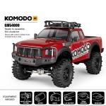 GMade GMA54000 KOMODO Off-Road Adventure Vehicle Kit, 1/10 Scale, w/ a GS01 Chassis, and 4WD