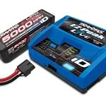 Battery/charger completer pack (includes #2971 iD charger (1), #2888X 5000mAh 14.8V 4-cell 25C LiPo battery (1))