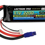 11.1V 2200mAh 50C with EC3 Connector (3S220050EC3)