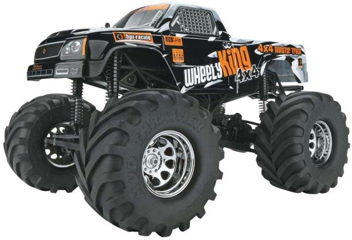Wheely King 4X4 1/12 Monster Truck RTR with 2 4GHZ (HPI106173)