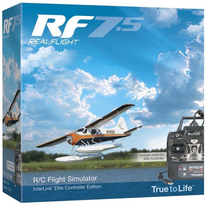 Great Planes RealFlight 7 5 w/InterLink Elite Mode 2 (GPMZ4520)