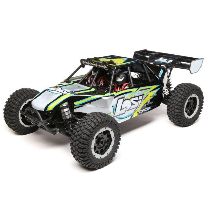 Losi 1/5 Desert Buggy XL-E 4WD Electric RTR with AVC, Black (LOS05012T1)