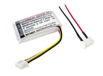 Common Sense  11.1 volt - 200mAh 10C Lipo Pack (3S20010C)