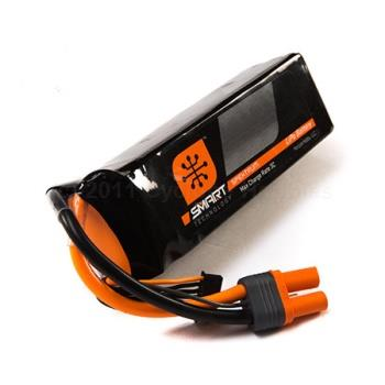 Spektrum  11.1V 2200 mAh 3S 30C Smart LiPo, IC3 (SPMX22003S30)