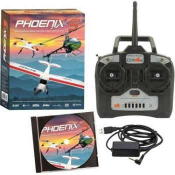 Runtime Gaming  Phoenix R/C Pro Simulator V5.0 with DX4e (RTM50R4400)