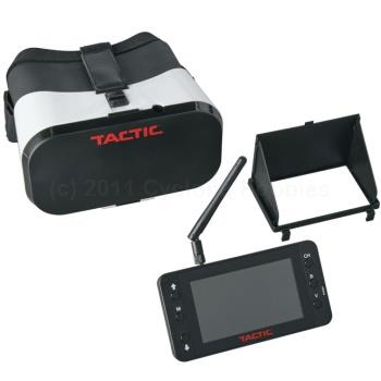 Tactic  FPV-RM2 FPV Monitor and Goggles Combo (TACZ5202)