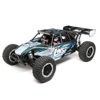 Losi  1/5 Desert Buggy XL-E 4WD Electric RTR with AVC, Grey (LOS05012T2)